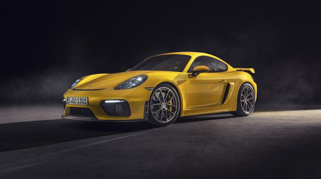 Nuove Porsche 718 Spyder e 718 Cayman GT4, le più estreme