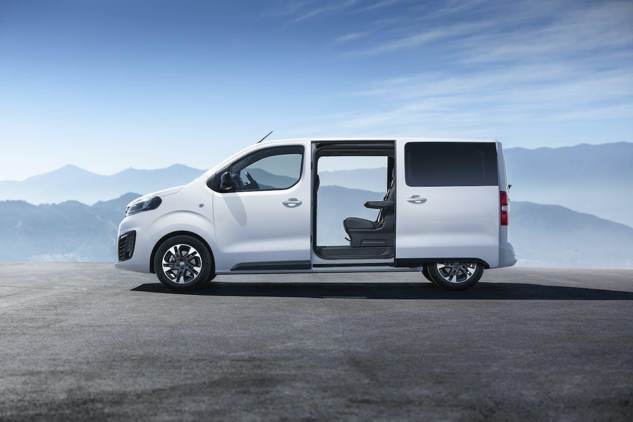 Opel Zafira Life porta scorrevole