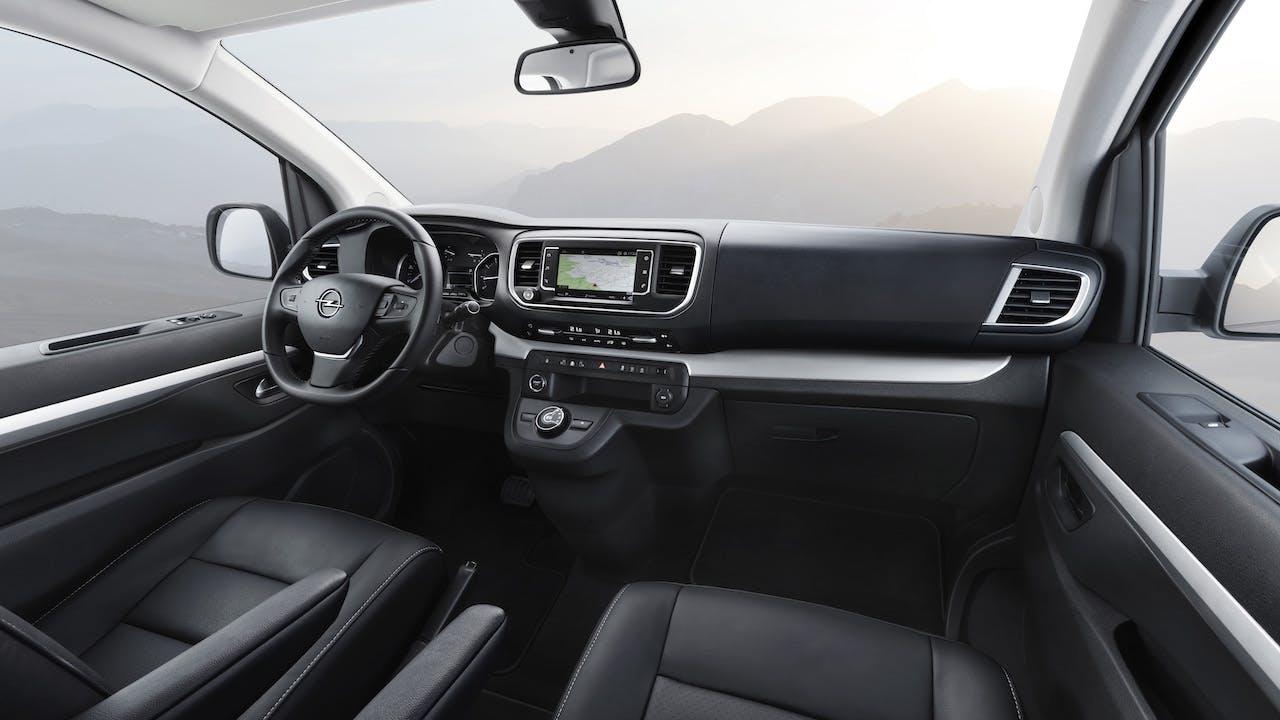 Opel Zafira Life plancia