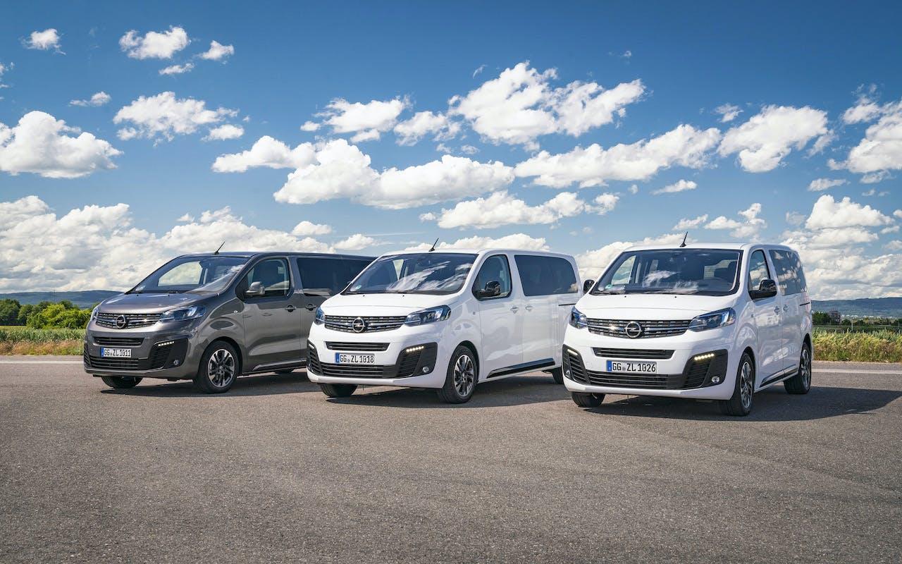 Opel Zafira Life S-M-L