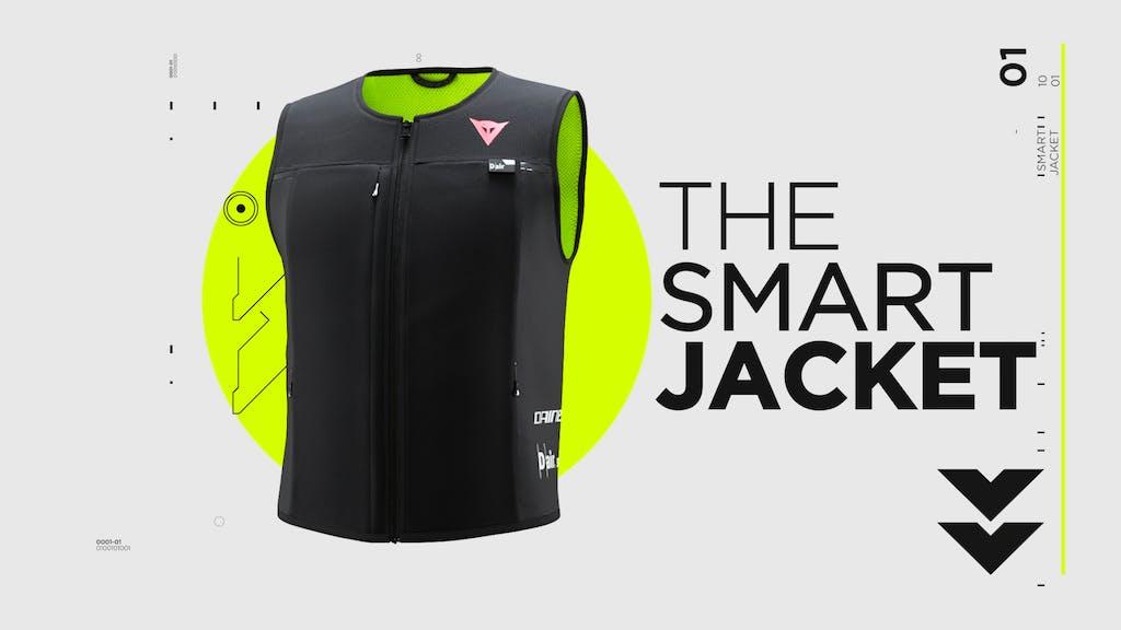 Dainese Smart Jacket, l'airbag della MotoGP in un gilet per tutti i giorni