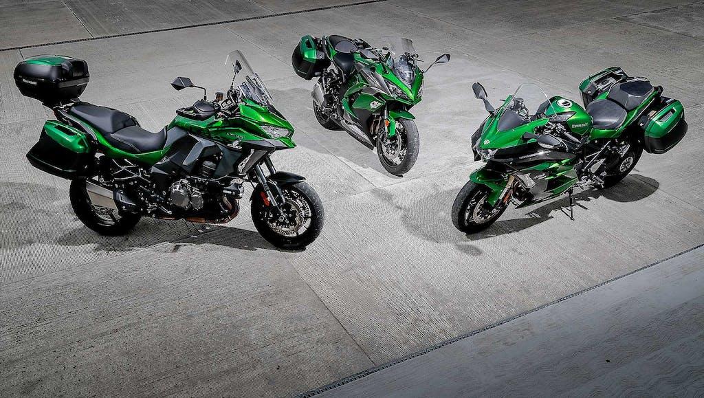 Kawasaki Sport Touring  A voi la scelta