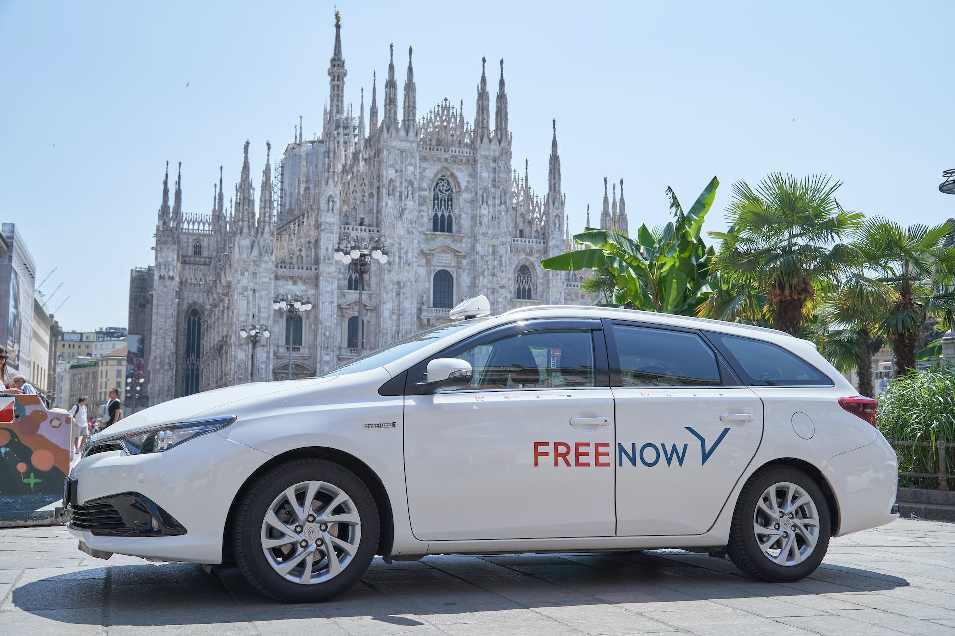 FREE NOW Milano