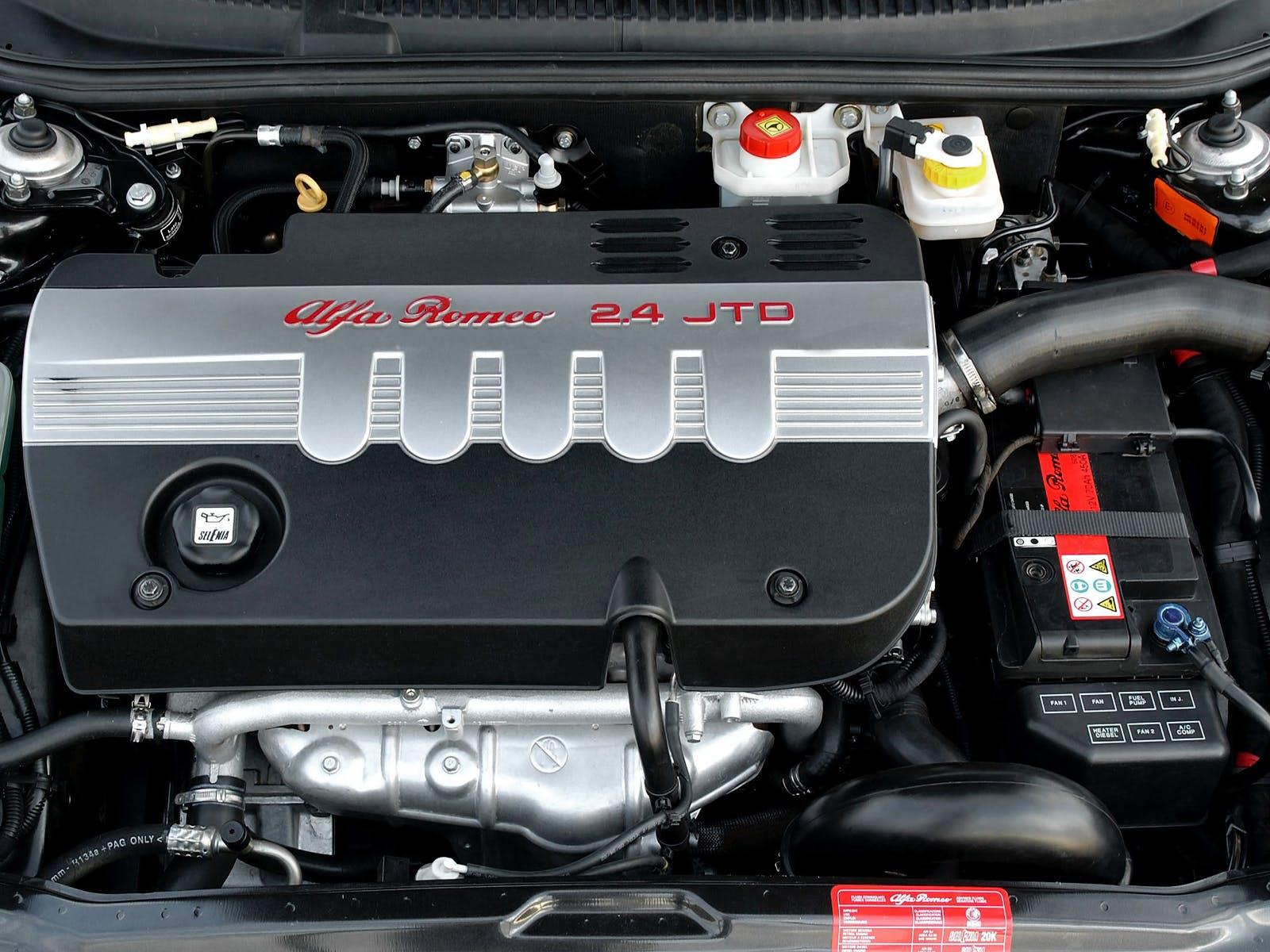 Alfa Romeo 156 motore JTD