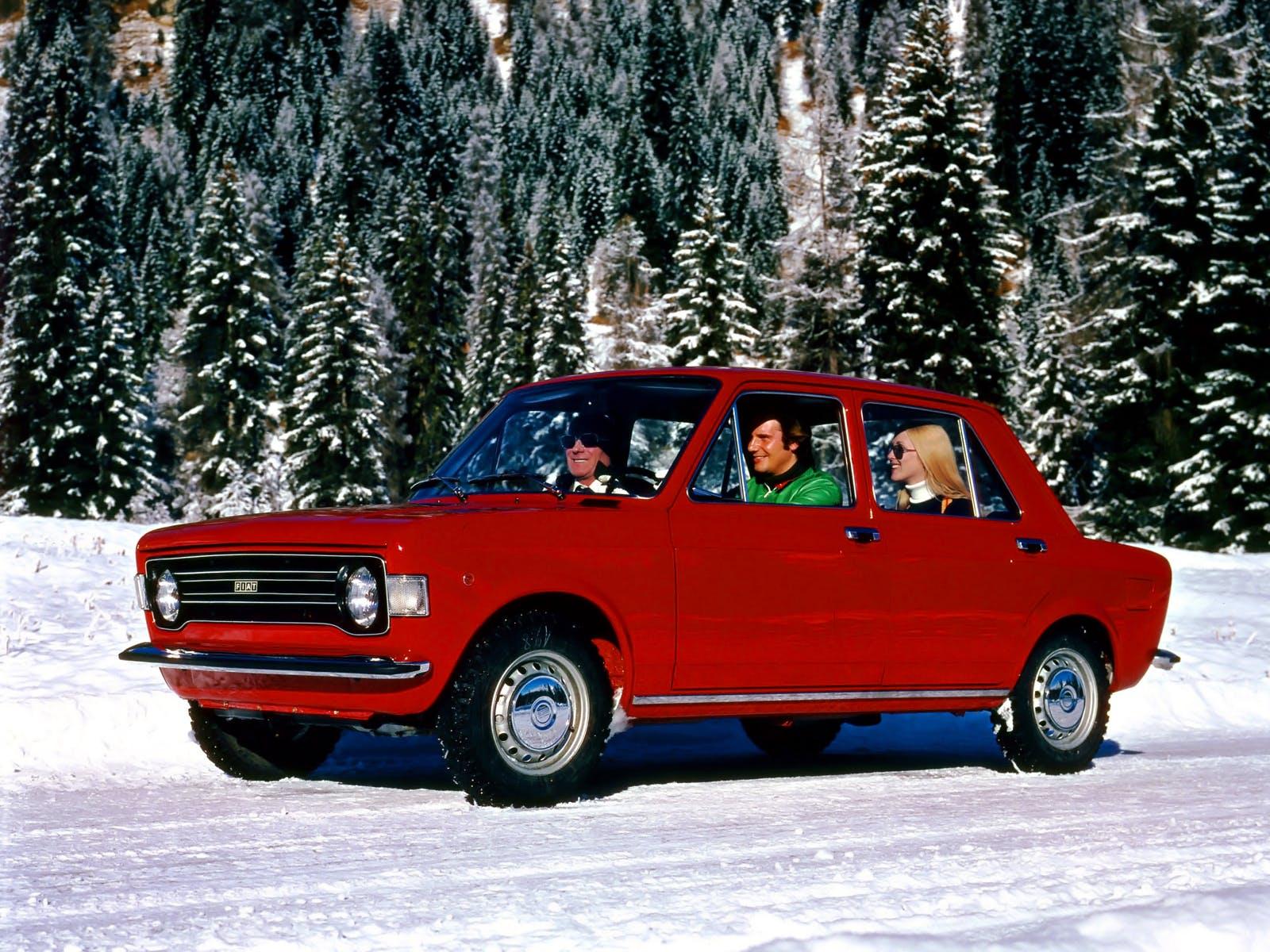 Fiat 128 rossa