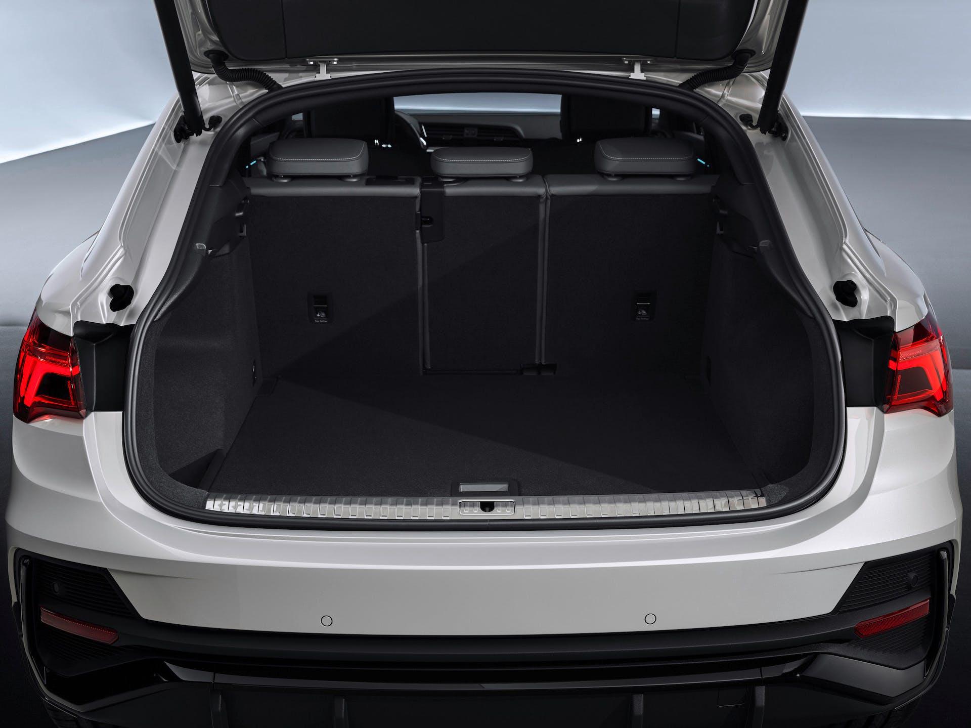 Audi Q3 Sportback bagagliaio