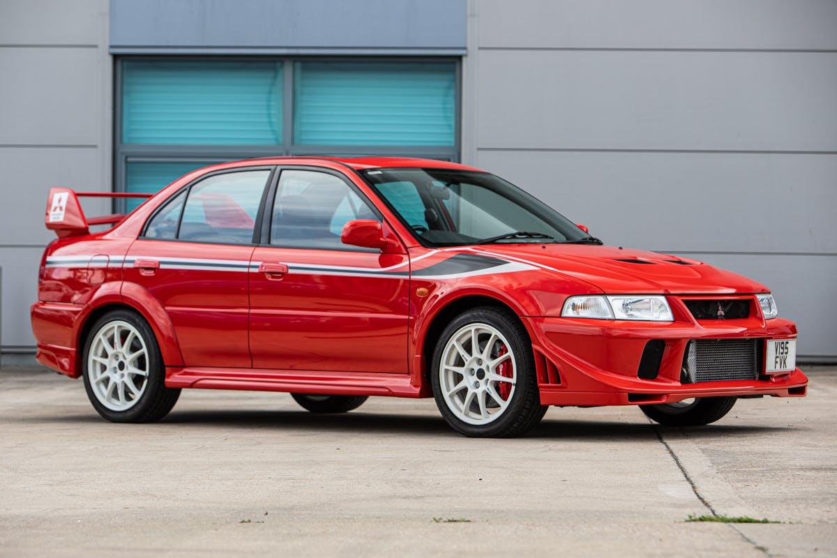 2000 Mitsubishi Lancer Evo VI Tommi Makkinen Edition (Red)
