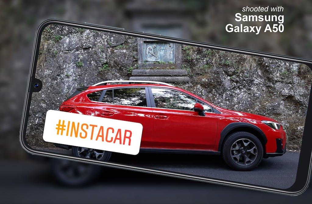 Subaru XV, la prova #Instacar