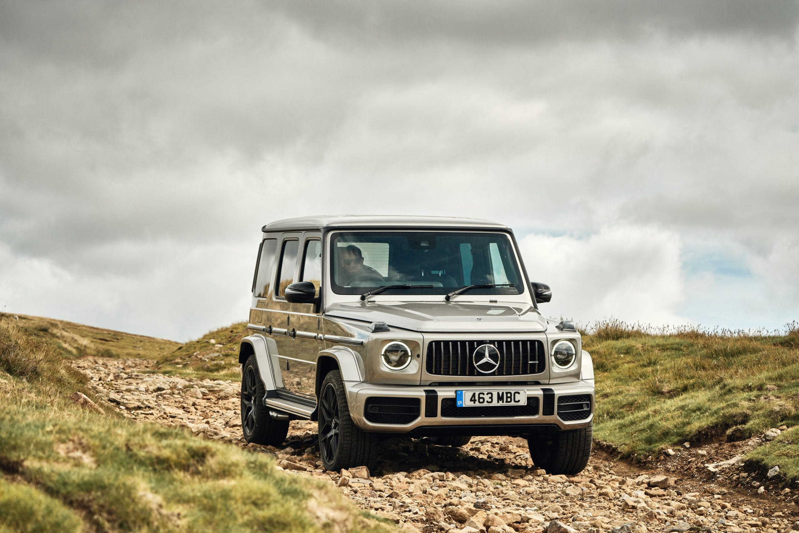Mercedes G63 AMG offroad