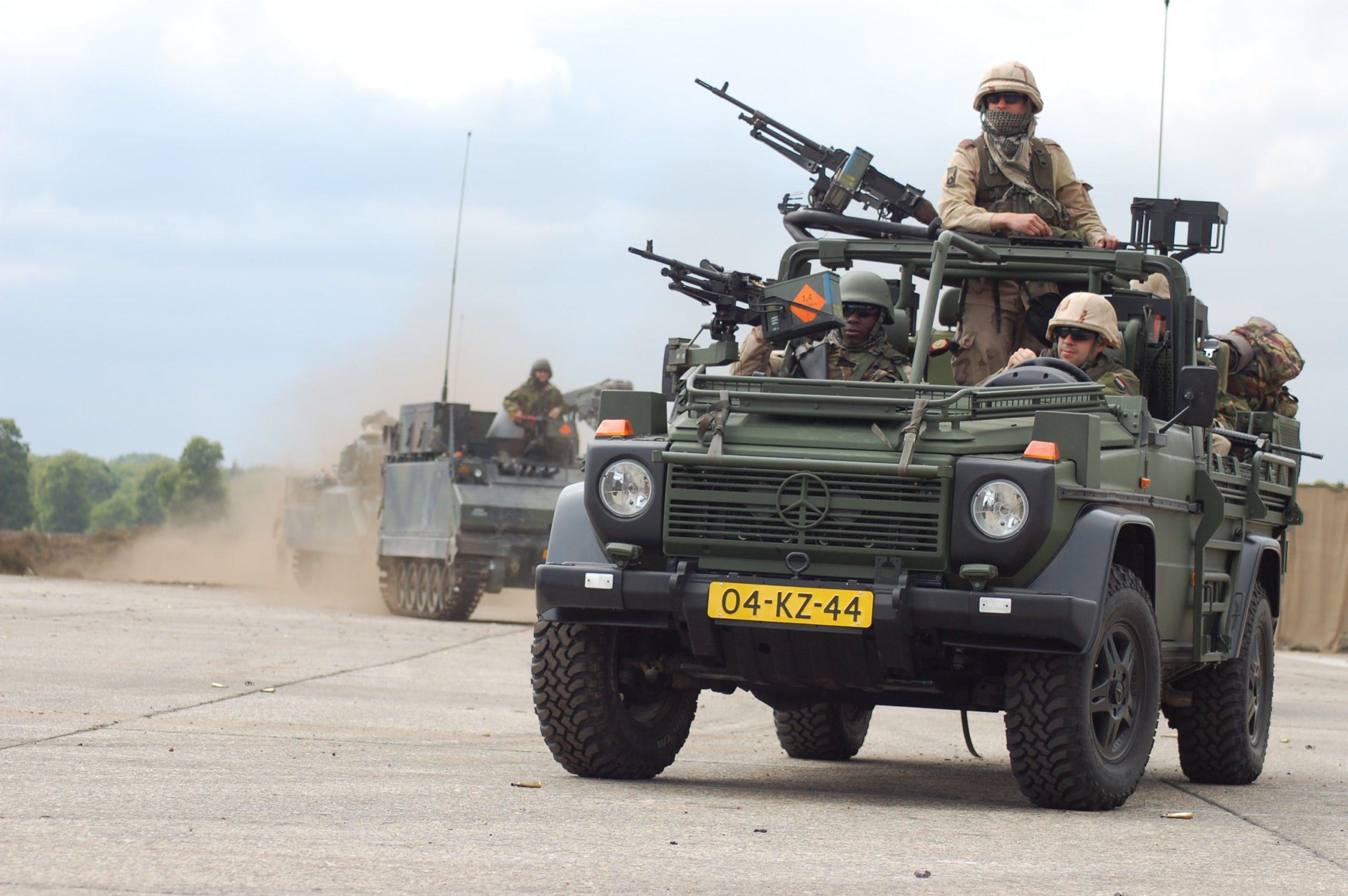 mercedes-benz Classe G militare
