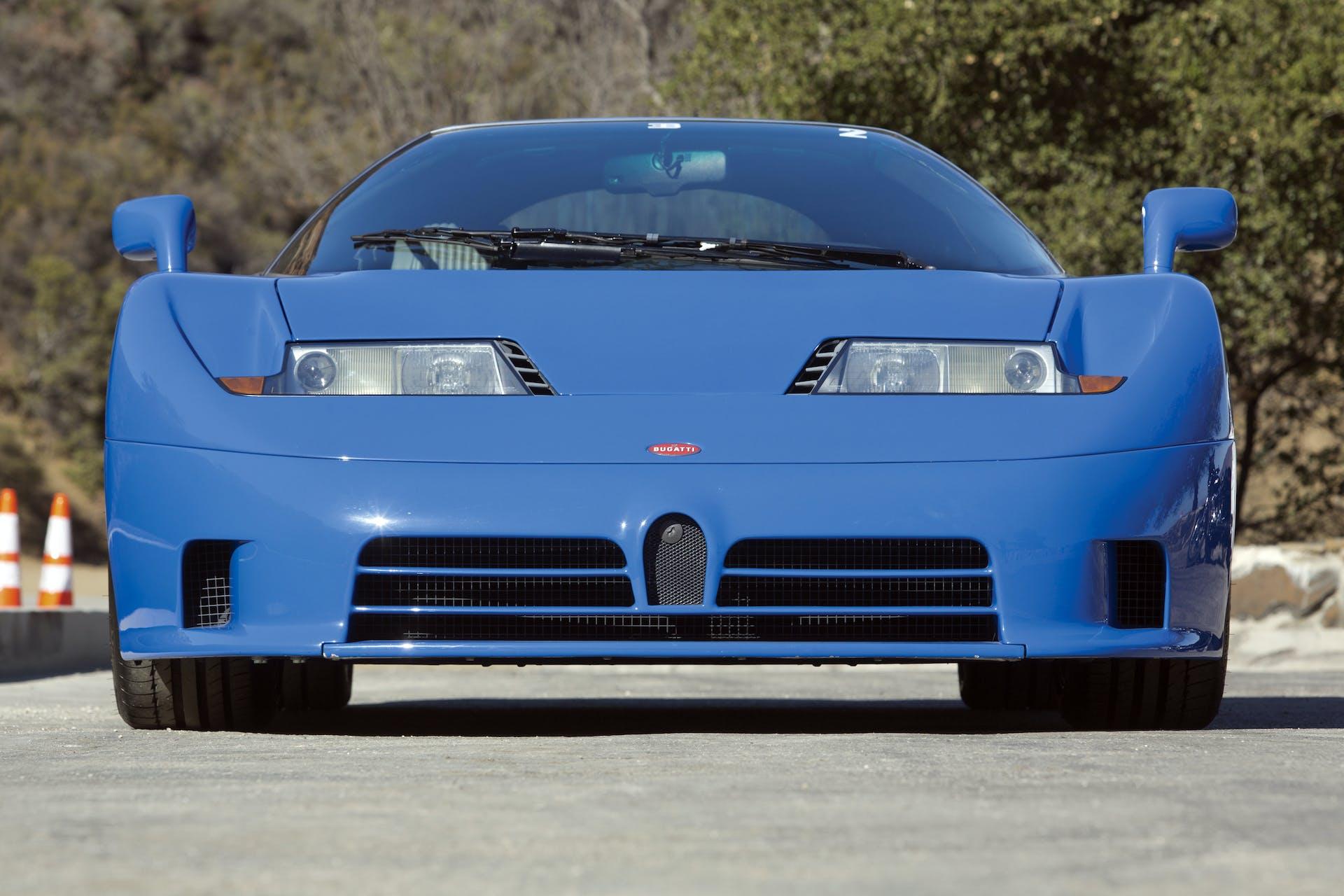 bugatti_eb110_gt blu frontale