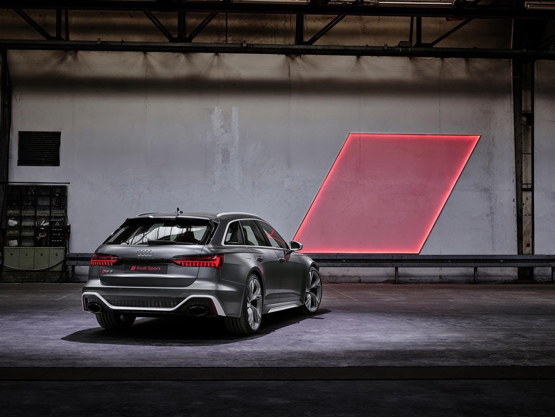 Audi RS6 retro