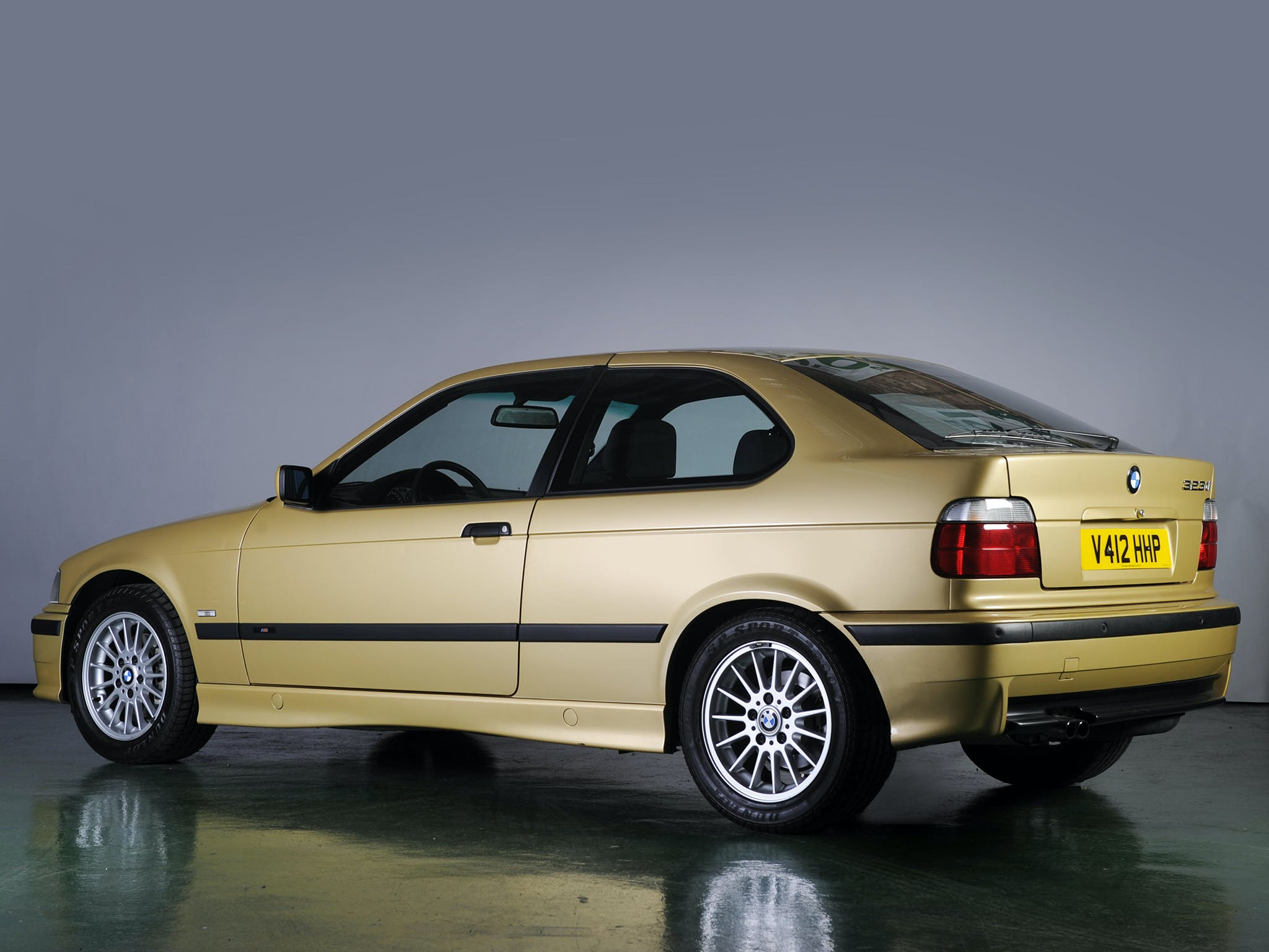 BMW Serie 3 Compact posteriore