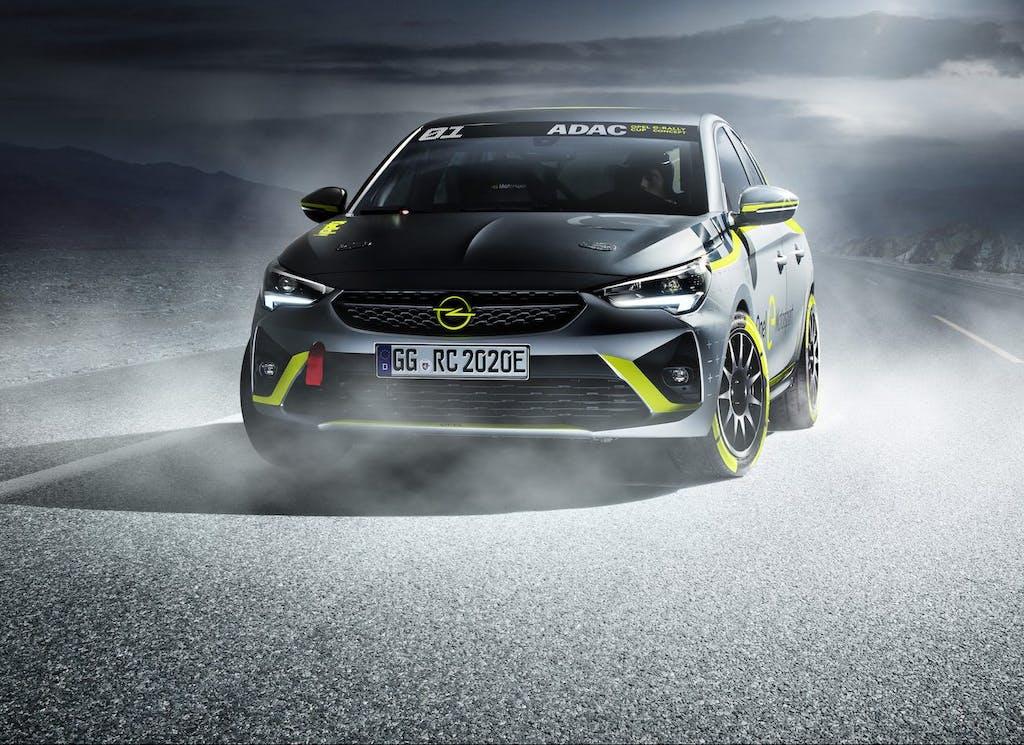Opel Corsa e-Rally, la prima auto da rally al mondo che va a batterie