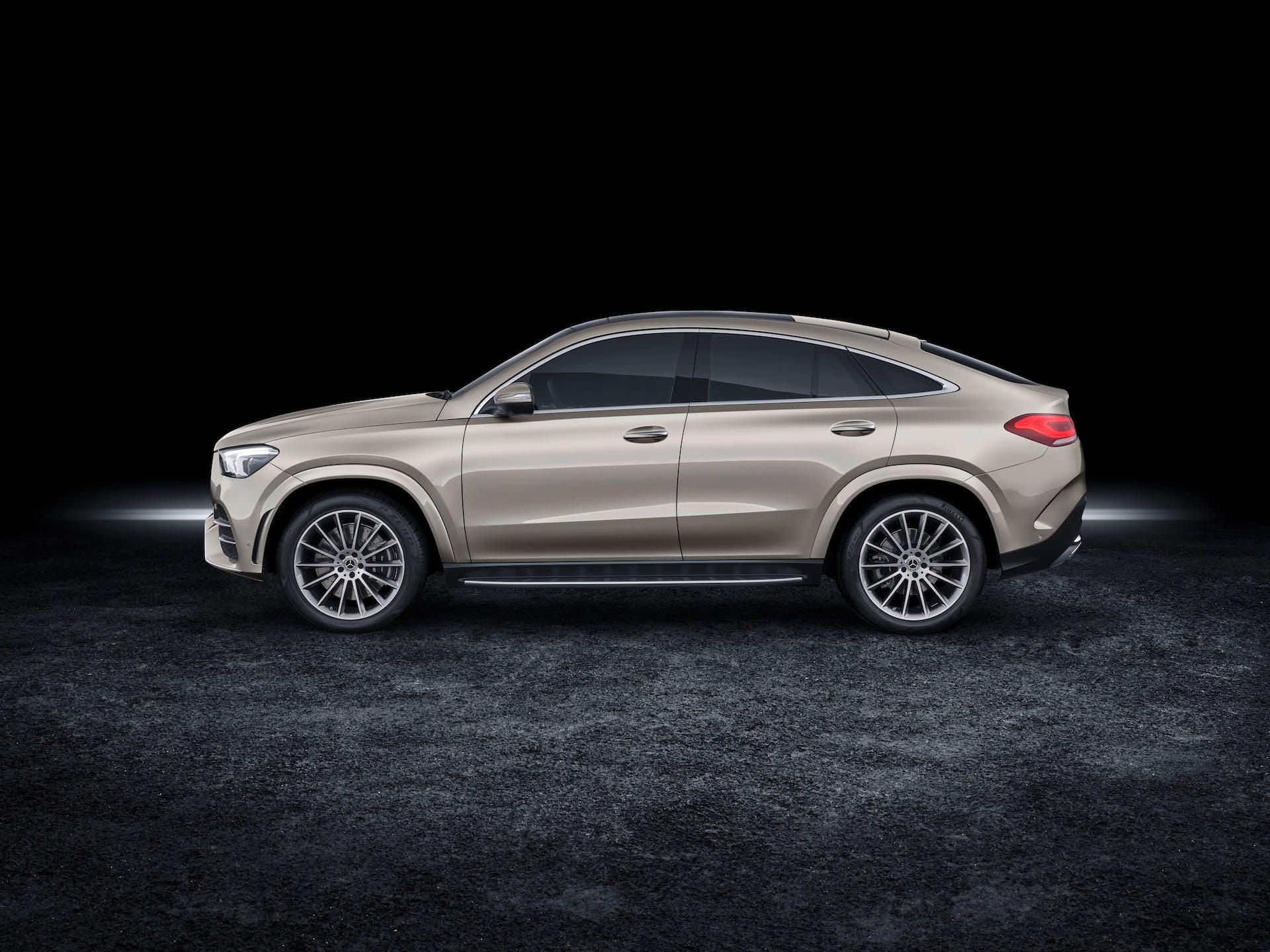 Mercedes-Benz GLE Coupé 2019Mercedes-Benz GLE Coupé 2019 grigia