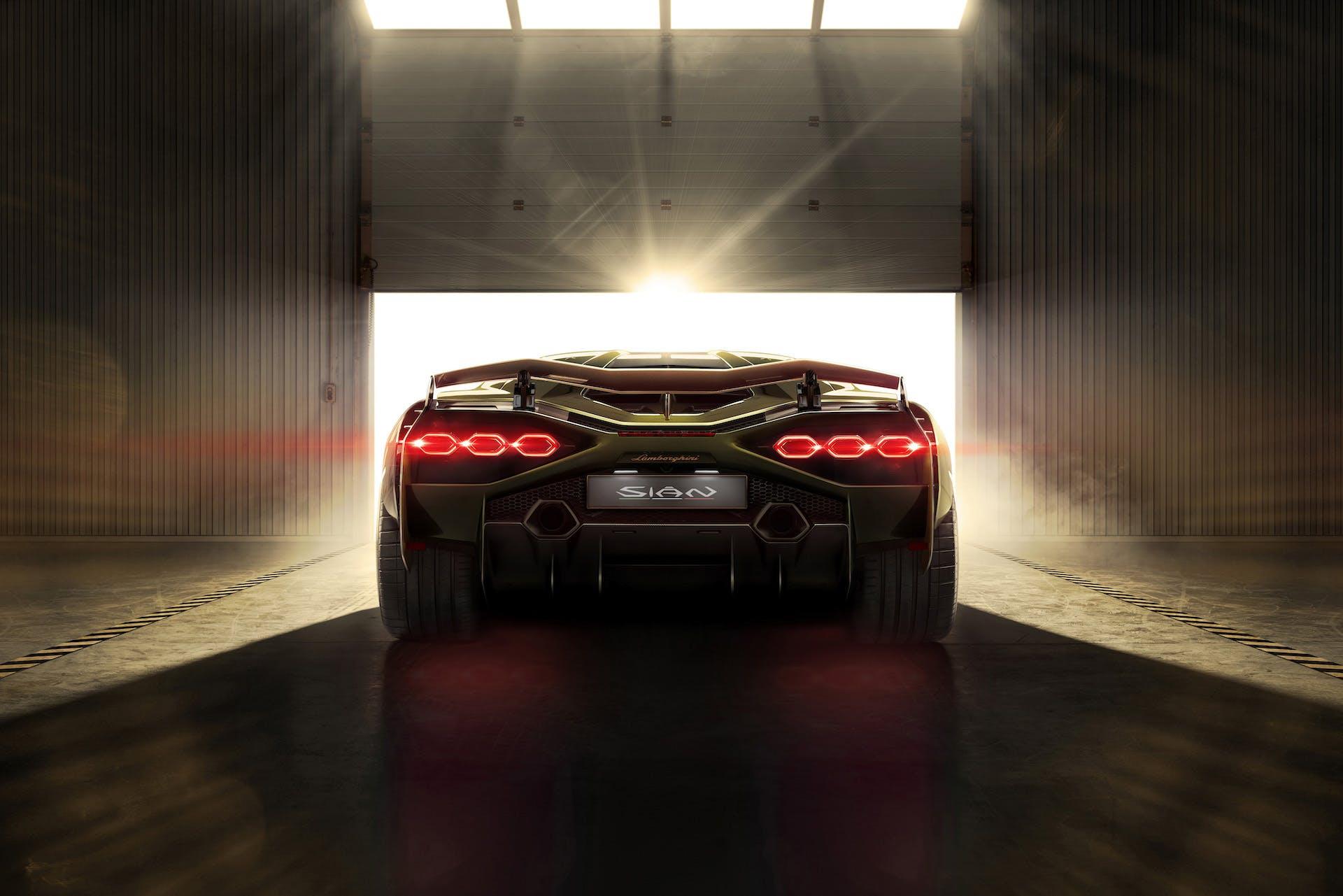 Lamborghini Siàn rear
