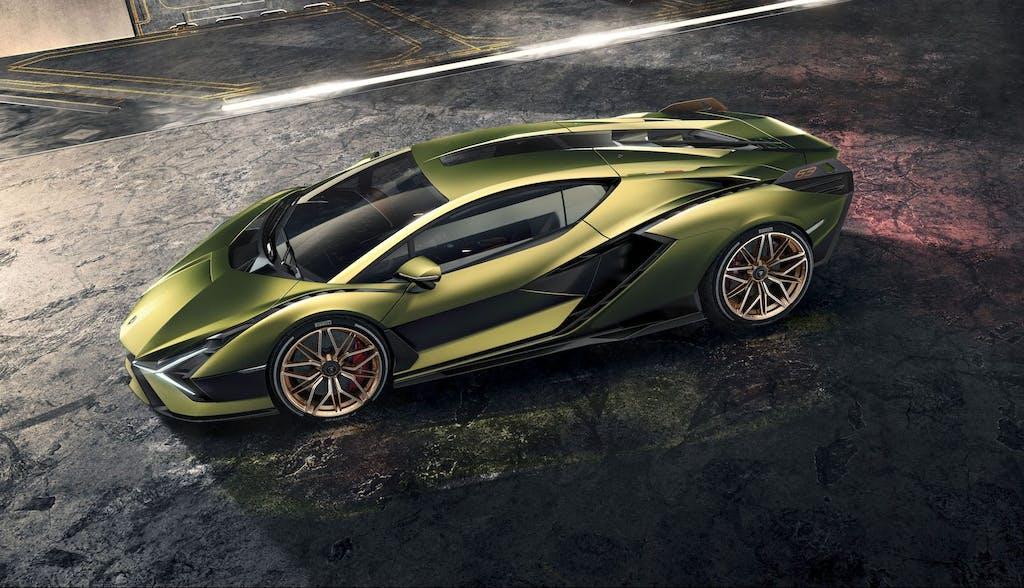 Lamborghini Siàn, V12 aspirata come sempre, ma ibrida