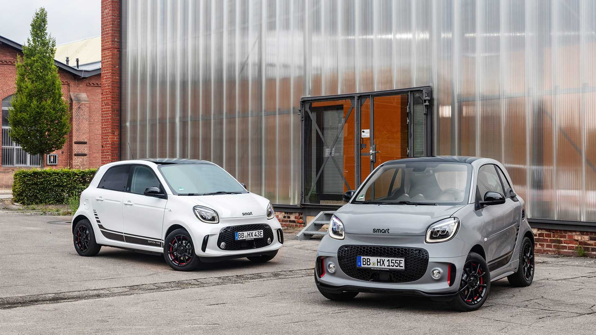 smart fortwo grigia e forfour grigia restyling 2019