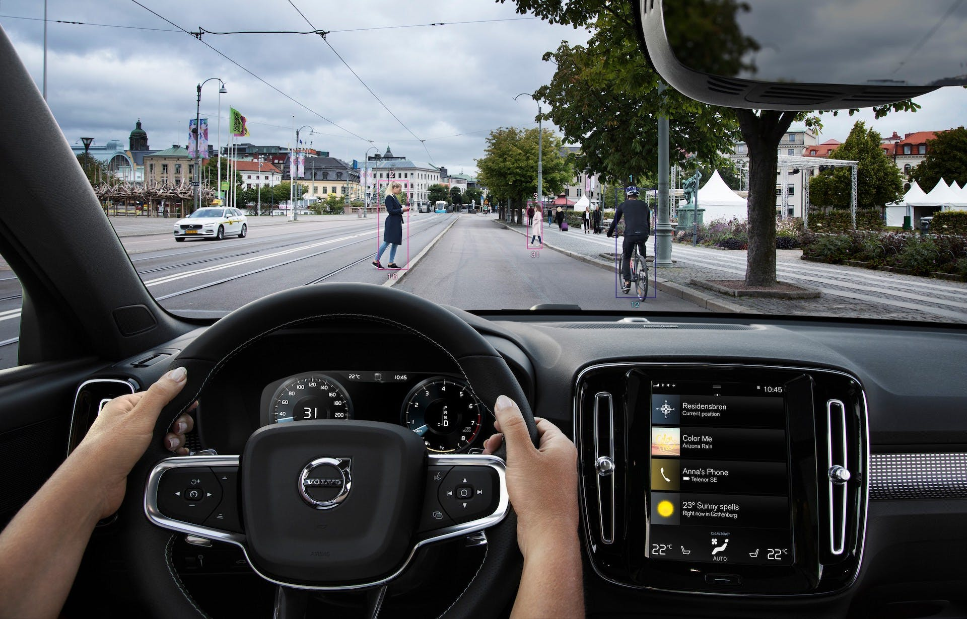 Volvo XC40 sicurezza