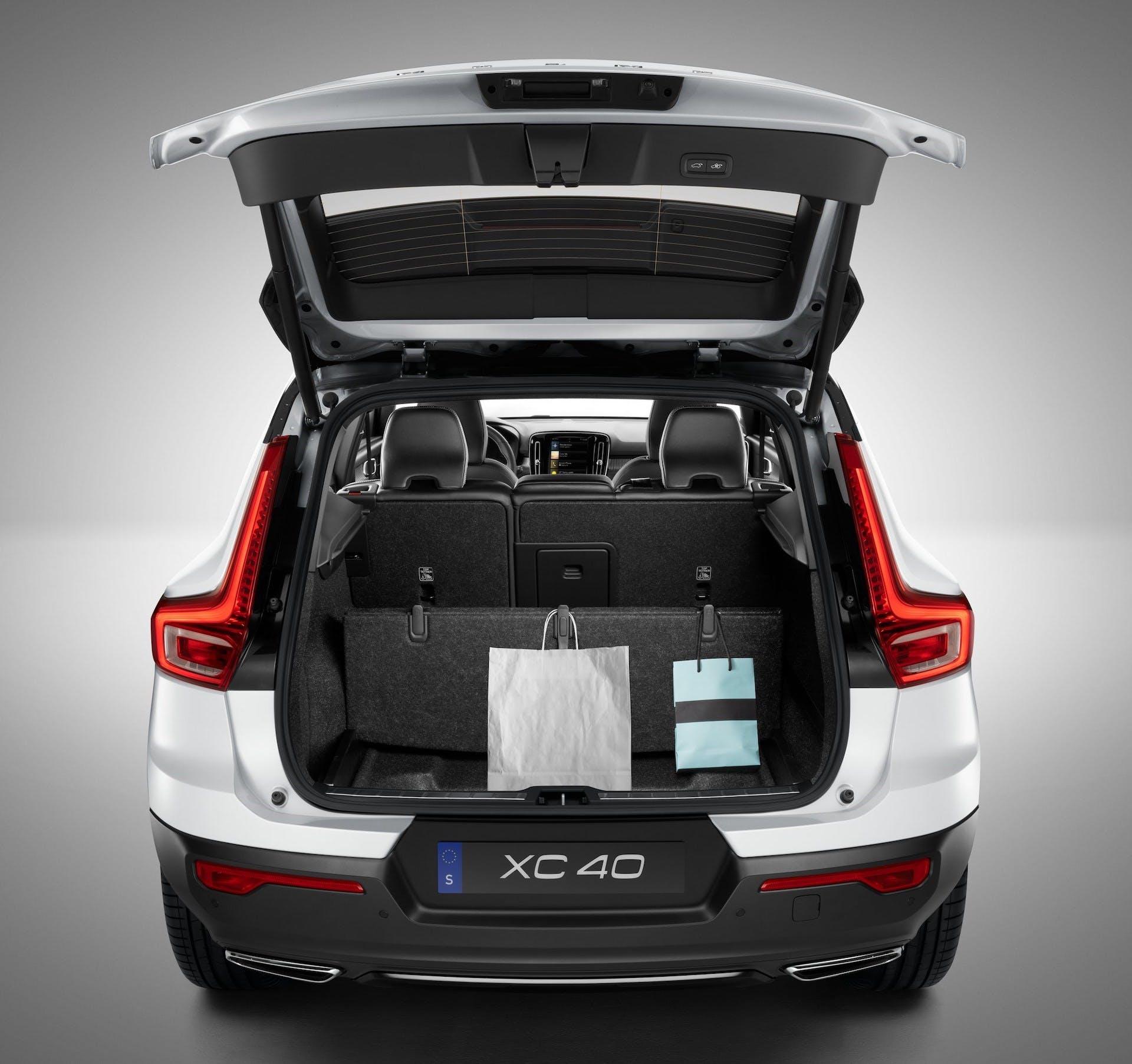 Volvo XC40 bagagliaio