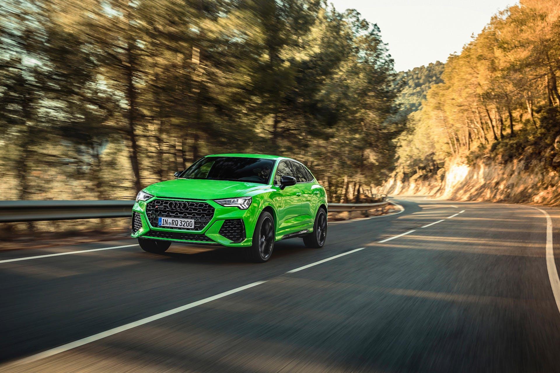 Audi RS Q3 Sportback Kyalami green