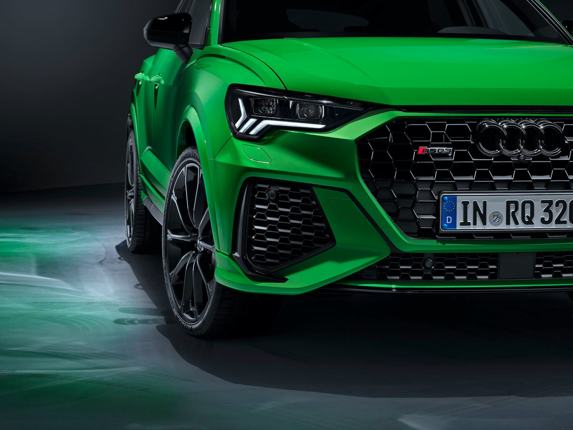 Audi RS Q3 front