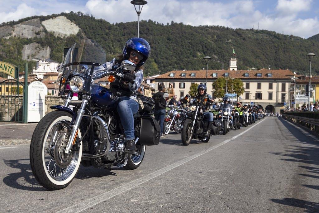 Ladies of Harley, festa a Sarnico