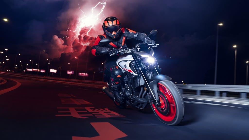 Nuova Yamaha MT-03,  ciclistica aggiornata, look più aggressivo
