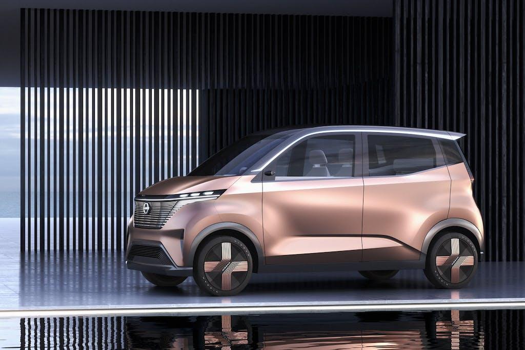 Nissan IMk, il concept cittadino ispirato alla cultura giapponese
