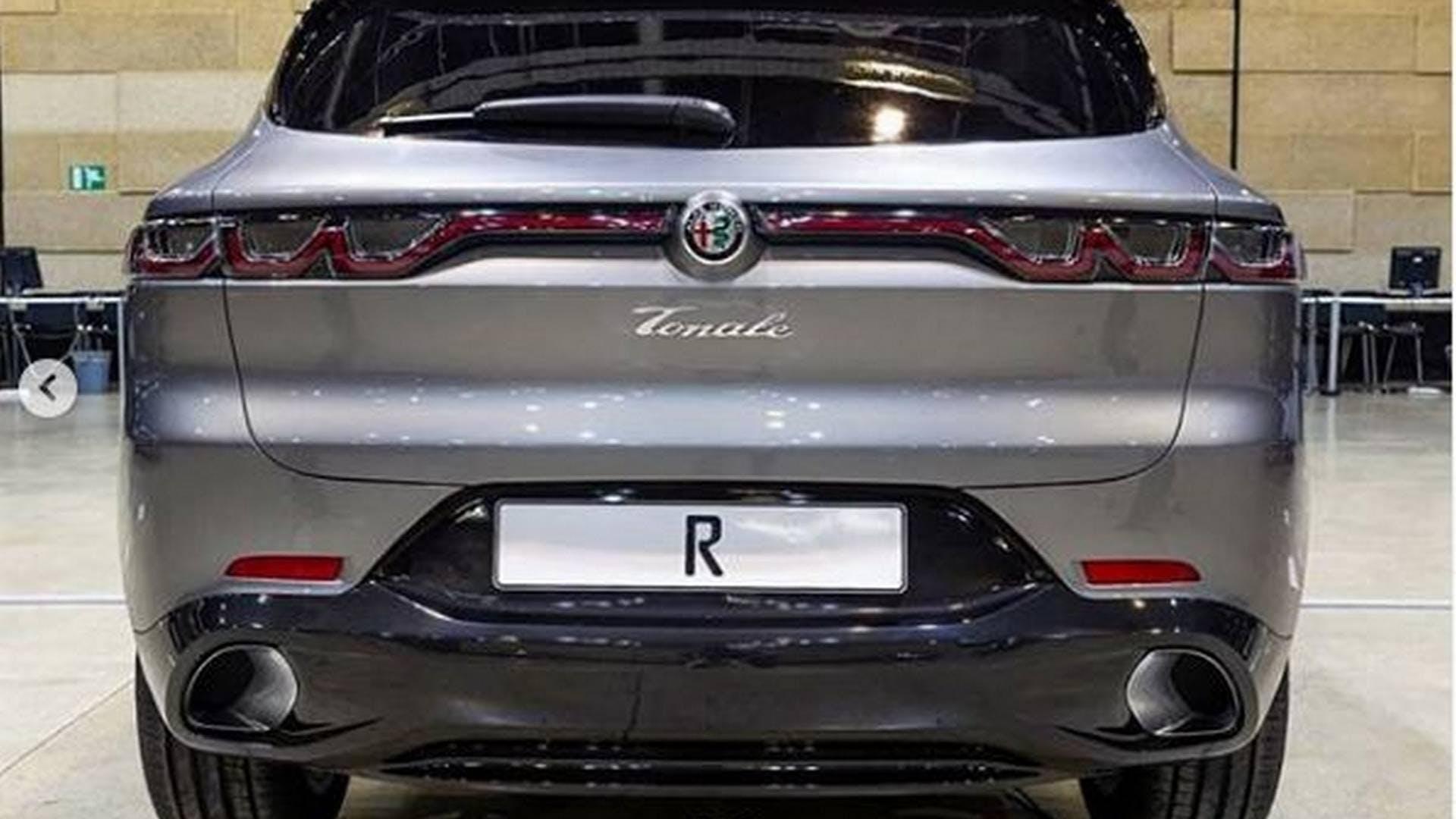 Alfa Romeo Tonale posteriore