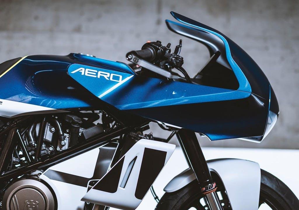 """Husqvarna Vitpilen 701 Aero, suo il """"Best of Best Design Contest"""""""