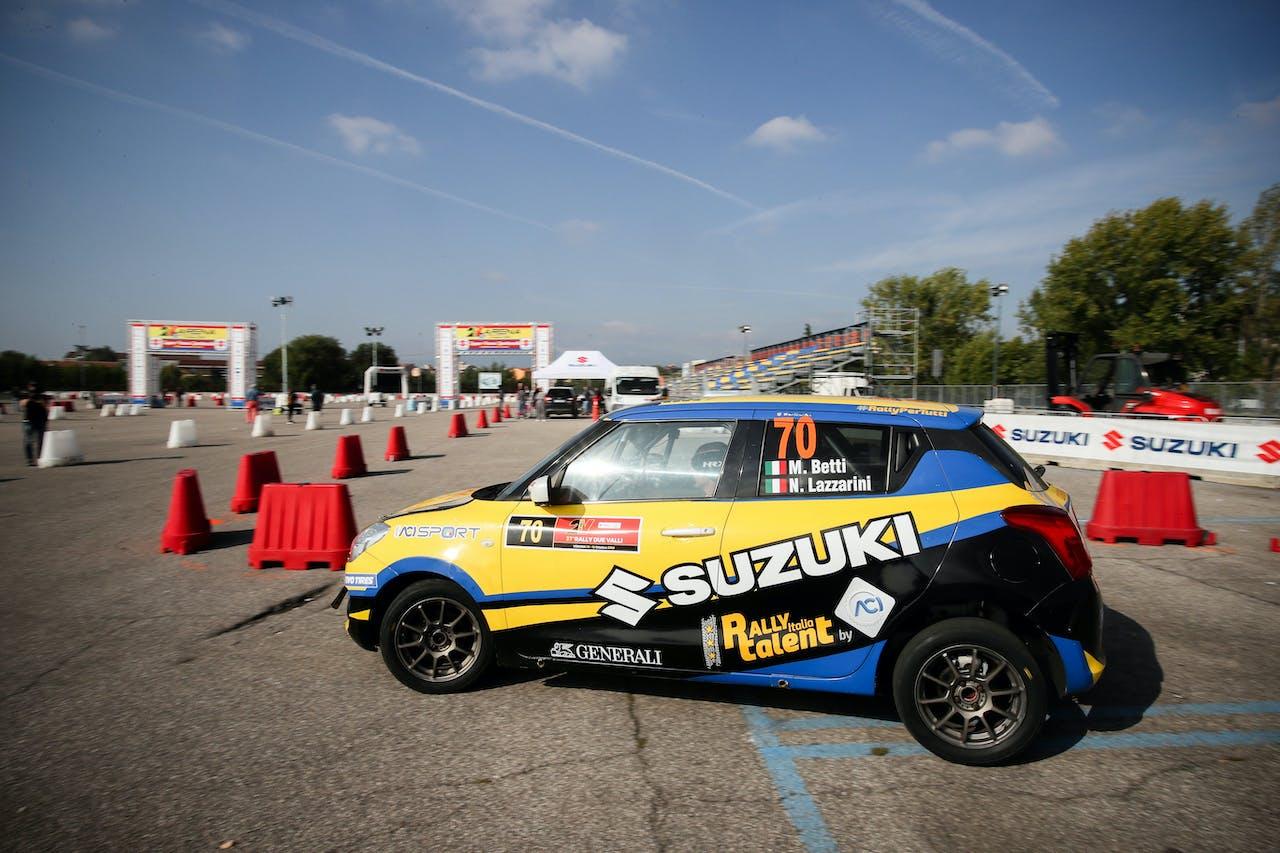 Suzuki Swift Sport rally italia