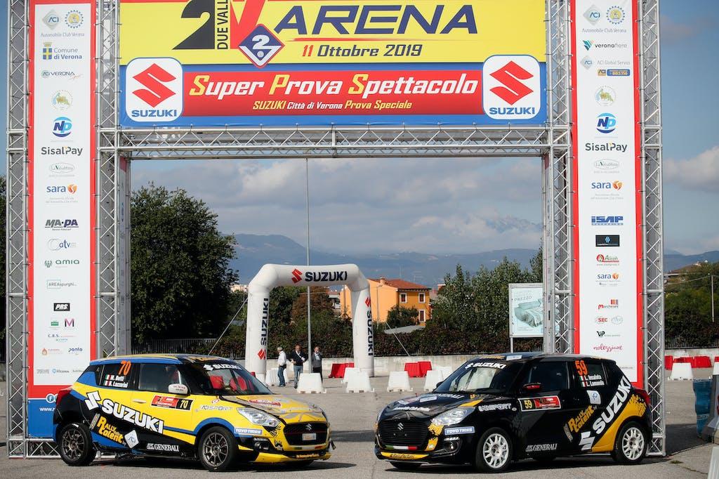 "Suzuki Swift Sport, il ""talent"" del rally italiano"