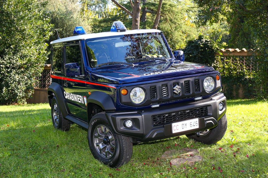 Suzuki Jimny e Ignis, auto ufficiali dei Carabinieri