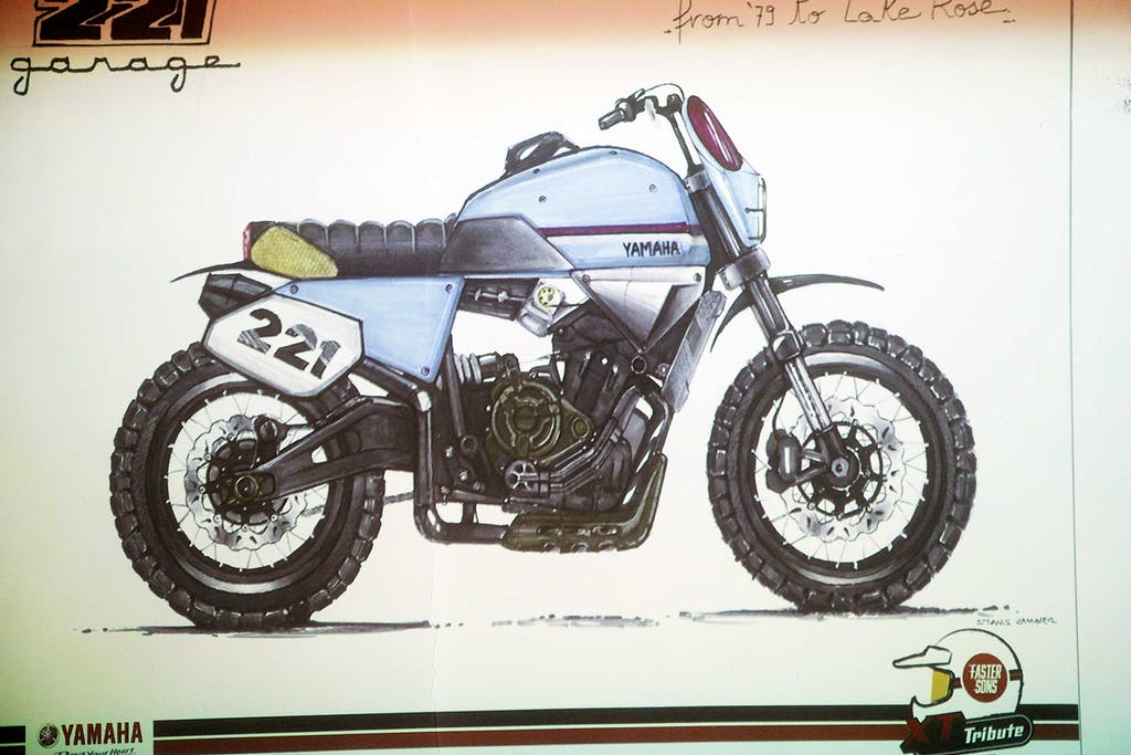 Yamaha XSR700 Garage 221 Violante