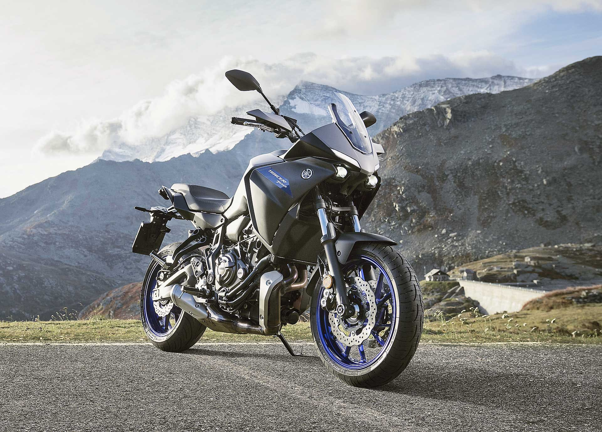 Yamaha Tracer 700 2020 statica moto per neopatentati A2