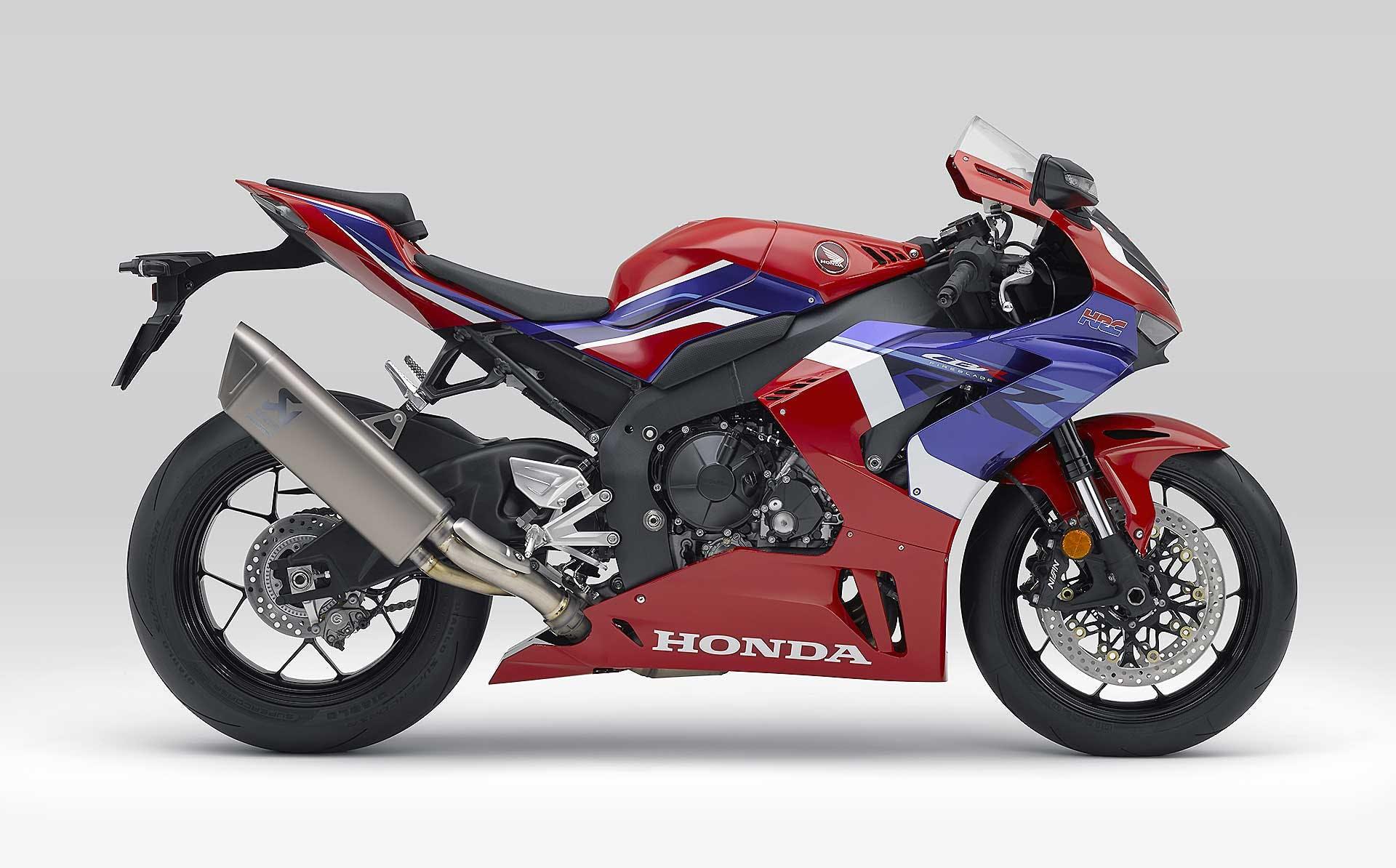 Honda CBR1000RR-R Fireblade 2020 laterale colori HRC
