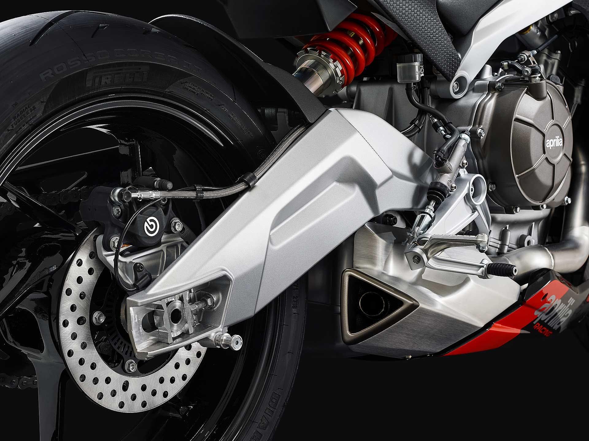 Aprilia RS 660 forcellone