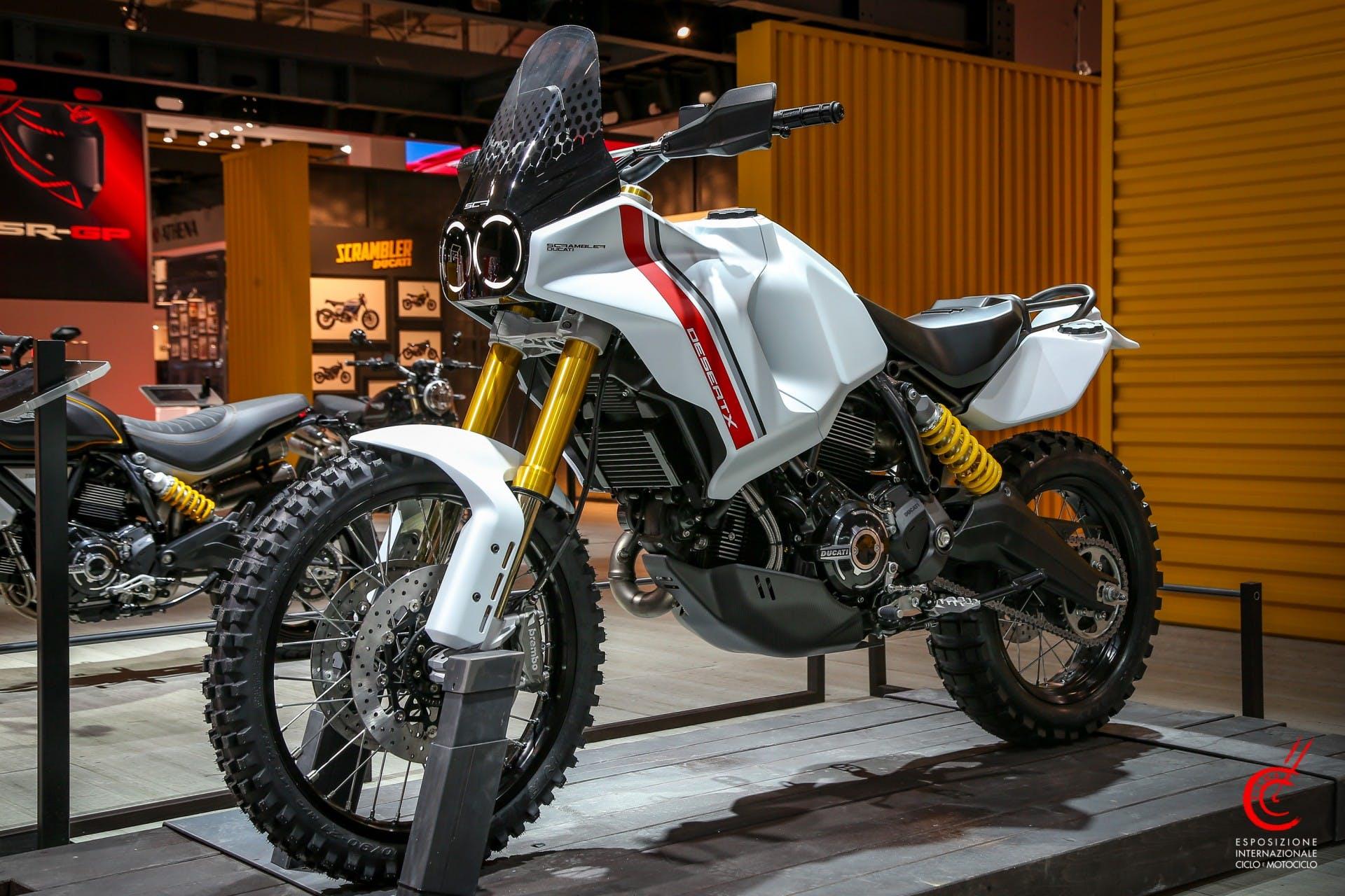 Ducati DesertX Eicma 2019