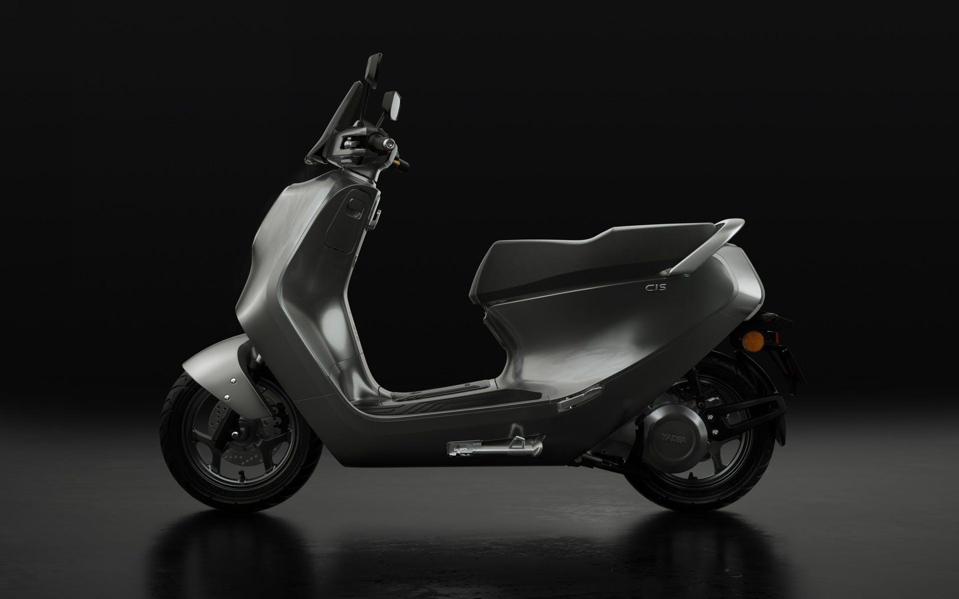 Yadea CS1 Scooter elettrico Statico fondo nero