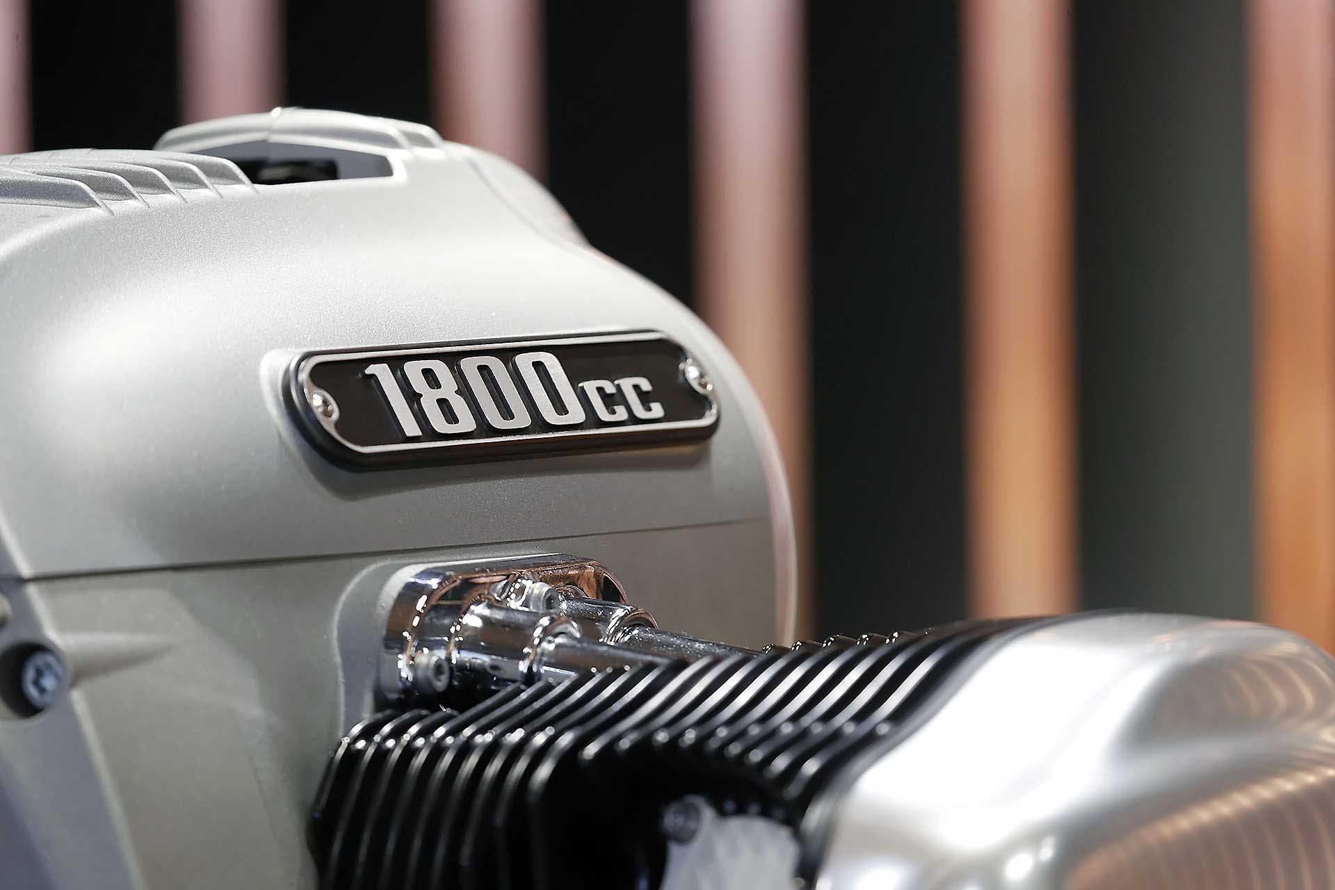 Motore BMW Big Boxer dettaglio