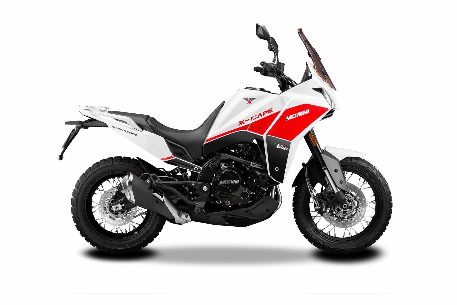 Moto Morini X-Cape Carrara White