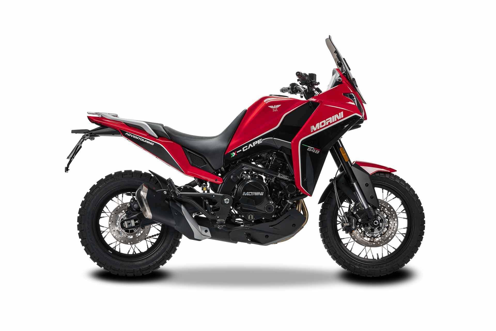 Moto Morini X-Cape Red Passion