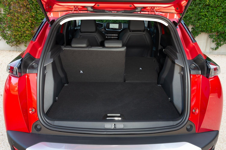 Nuova Peugeot 2008, il bagagliaio