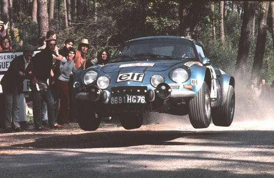 Alpine A110 Rally Storiaca