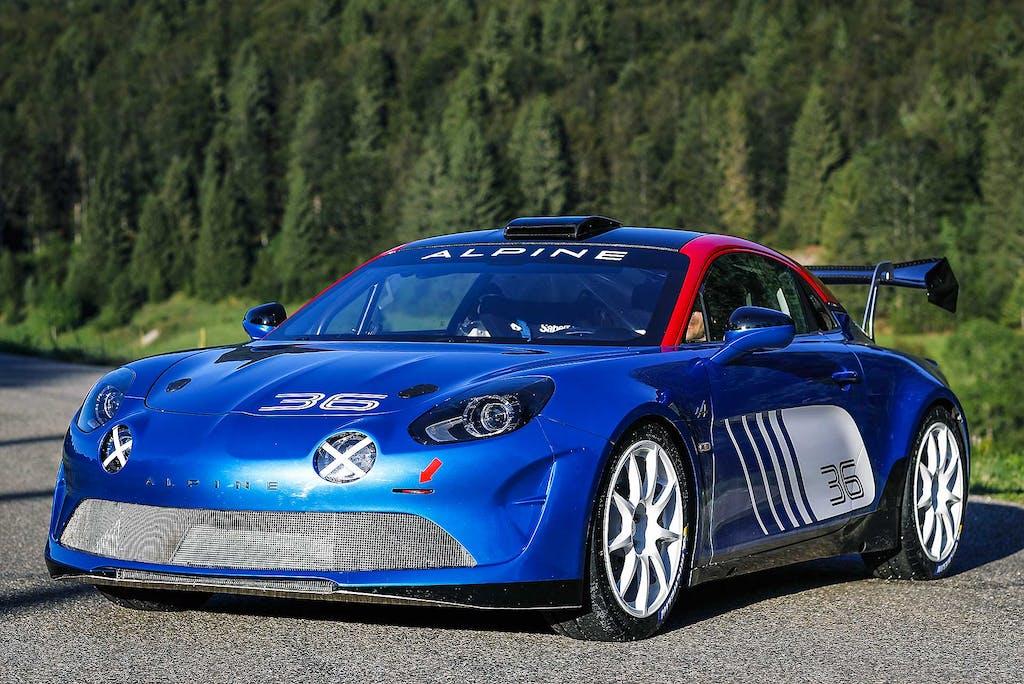 Alpine A110 Rally  Il ritorno di un mito