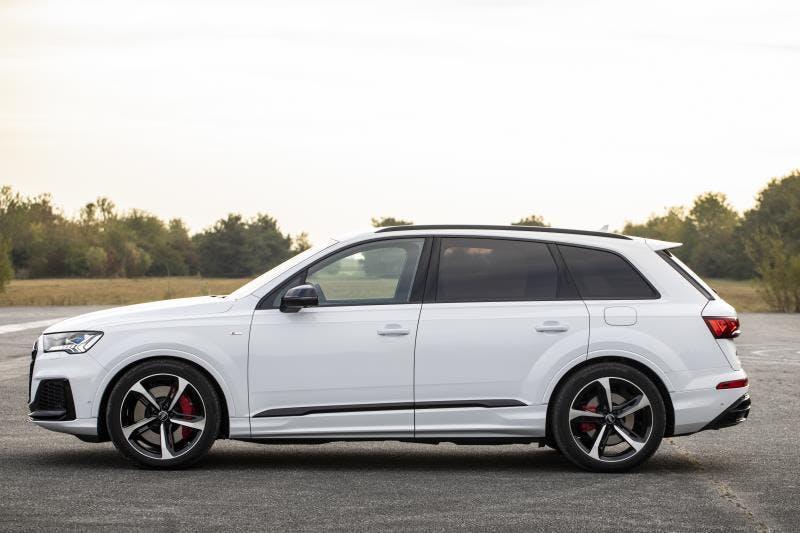 Audi Q7 TFSI E 2020 Bianco