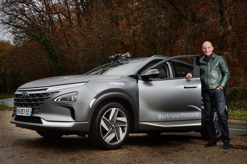 Hyundai Nexo a idrogeno un record lungo 778 km