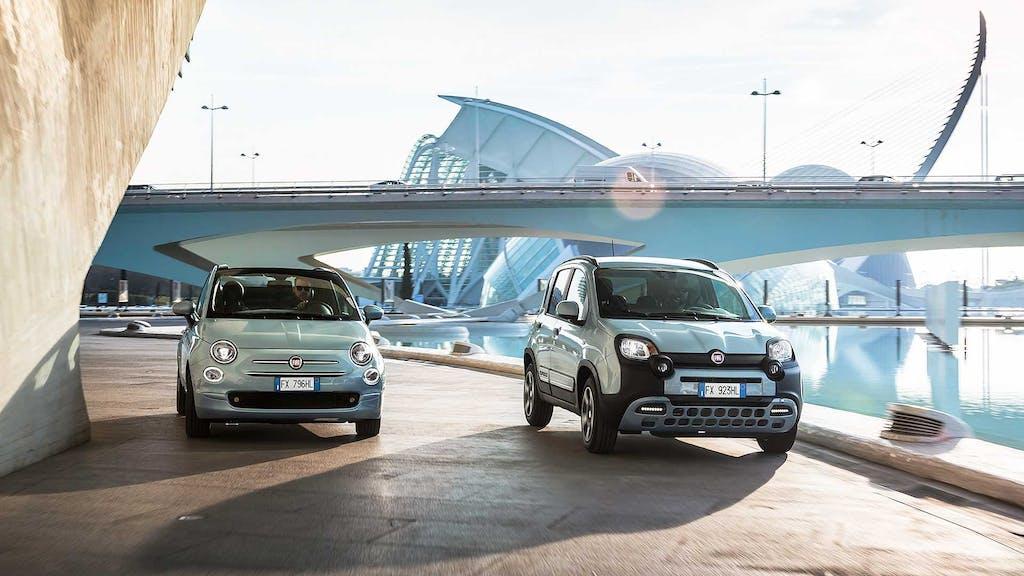 Fiat 500 e Panda Hybrid, igienizzate e al costo di un mezzo pubblico