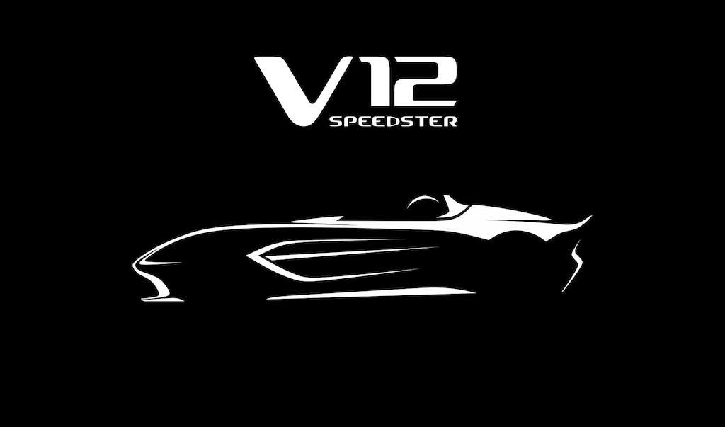 Aston Martin V12 Speedster  omaggio a Le Mans